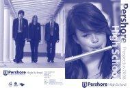 Prospectus 2008 - Pershore High School