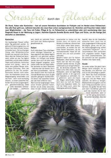fellwechsel - Burda's Tierwelt GmbH