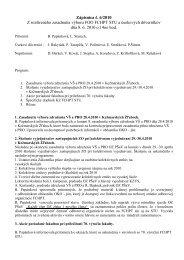 Zápisnica č. 6/2010 Z rozšíreného zasadnutia výboru FOO FCHPT ...