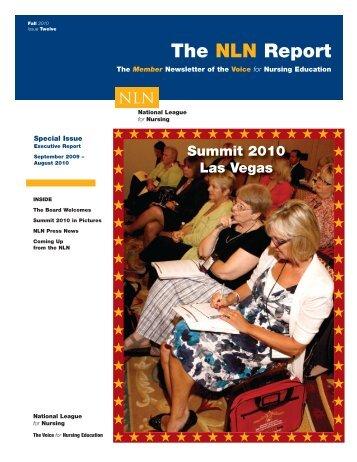 Fall 2010 - National League for Nursing