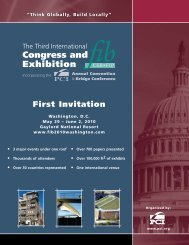 Congress and Exhibition - ABCIC