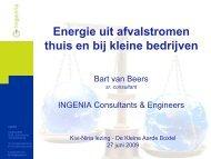 Energie uit afvalstromen thuis en bij kleine bedrijven - kivi niria