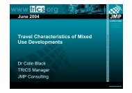 Dr Colin Black JMP Consultants Limited - TRICS