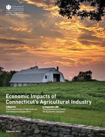 Economic Impacts of Connecticut's Agricultural Industry