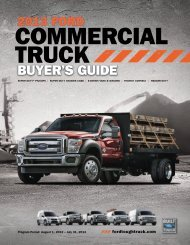 commercial connection - Ford Tough Truck