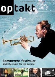 Sommerens festivaler - Optakt