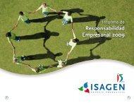 Informe de Responsabilidad Empresarial - Isagen