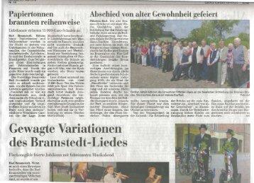 25.05.2010, Segeberger Zeitung, Gildefest - Bramstedter ...