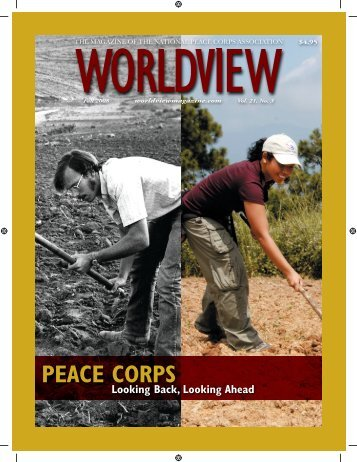 the Fall 2008 'Worldview' - National Peace Corps Association