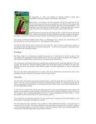On September 11, 2001, the facilities of Thacher Proffitt & Wood ...
