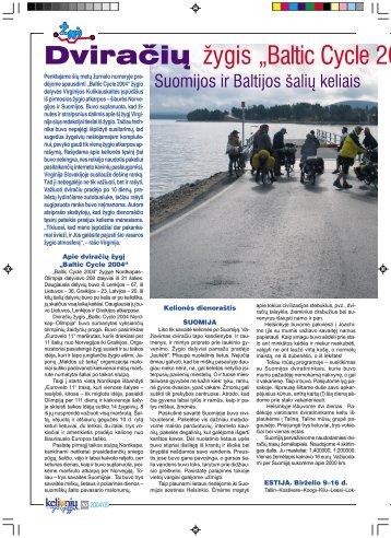 PDF formatu - Baltic Cycle.