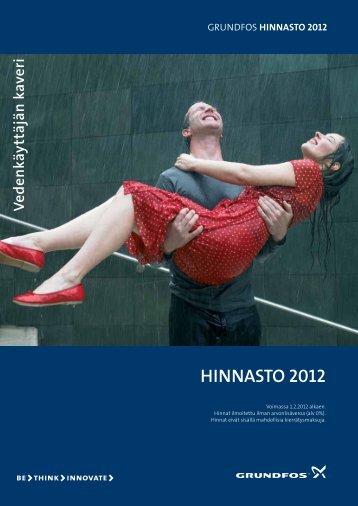 HINNASTO 2012 - Grundfos