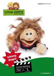 Katalog der Living Puppets als PDF-Dokument laden