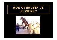 2012 10 01 cjwp roadshow - Landelijk Arbo Congres