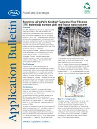 Breweries using Pall's Keraflux- Application ... - Pall Corporation