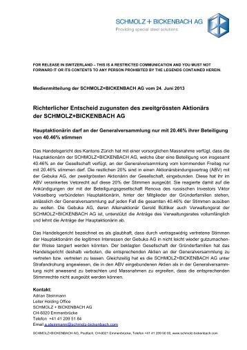 Medienmitteilung_2013_06 24_Verfügung Handelsgericht_de