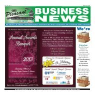 February 2013 - Mt. Pleasant Area Chamber of Commerce