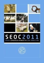 Programa congreso SEOC 2011 - Neiker
