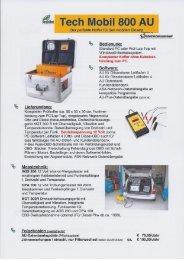 Techmess Mobil Abgastester Produktdatenblatt - Rösner KFZ ...