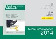 Mediadaten - Arbeit und Arbeitsrecht