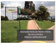REDISEÑO PISTA DE TROTE Y PISTA DE CICLO ... - designblog