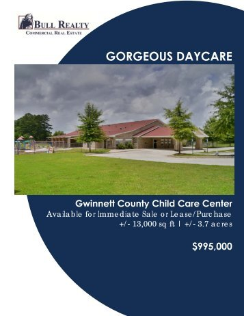 GORGEOUS DAYCARE - Bull Realty