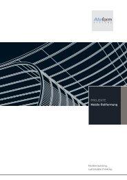 PROJEKTE Mobile Rollformung - Aluform System GmbH & Co. KG