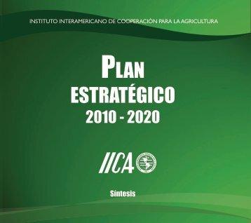 Plan Estratégico 2010 - Instituto Interamericano de Cooperación ...