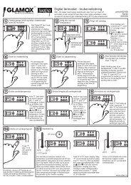 Digital termostat - brukerveiledning - Adax