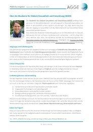Über die Akademie für Globale Gesundheit und Entwicklung (AGGE)