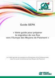 Guide SEPA - Crédit Agricole Alpes Provence