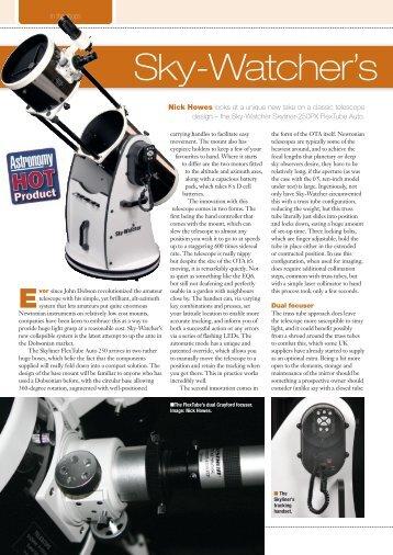 Astronomy Now Magazine Review of Skyliner-250PX FlexTube AUTO