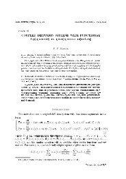 t, x - Matematychni Studii