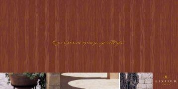 Elysium Brochure - Elysium Hotel