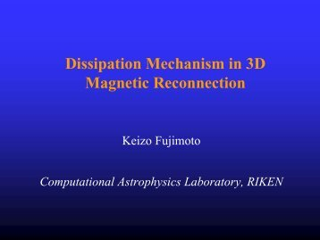 Dissipation mechanism in 3D magnetic reconnections