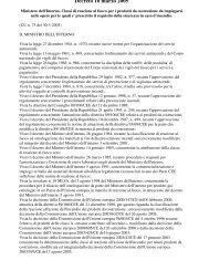Decreto 10 marzo 2005 - Ordine degli Architetti della Provincia di ...