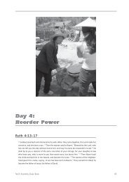 Reorder Power - LWF Tenth Assembly 2003