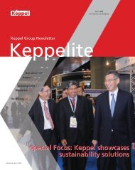 July 2008 - Keppel Corporation