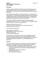 N218JK Page 1 of 5 1978 / 2006 PA-18-150 Super ... - Barnstormers