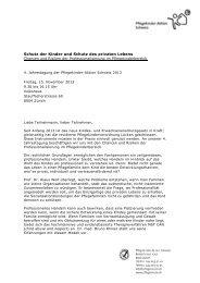 Schutz der Kinder und Schutz des privaten Lebens - Pflegekinder ...
