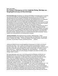 Der Dialog in Bewegung und der entgleiste Dialog ... - ADS-Kritik