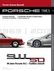 Ausgabe 1/13 - Porsche Zentrum Bayreuth