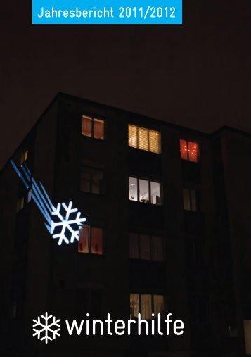 Jahresbericht 2011/2012 - Winterhilfe Schweiz