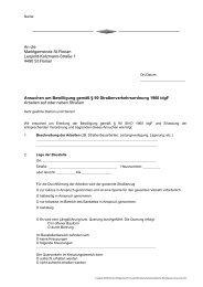 Ansuchen straßenpolizeiliche Bewilligung (15 KB) - Marktgemeinde ...