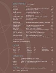 Breakfast - Babble Cafe