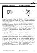 Katalogauszug zu Polarisatoren - Bernhard Halle - Seite 4