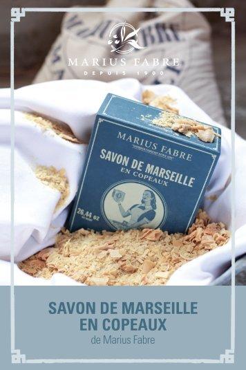 SAVON DE MARSEILLE EN COPEAUX - Marius Fabre