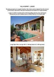 VILLA ESPRIT - LAGOS - Prime Algarve Rentals