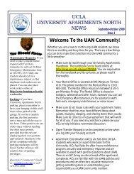 2009 09-10 Sep-Oct Undergrad - Housing - UCLA