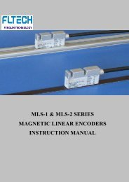 MLS-1 & MLS-2 SERIES MAGNETIC LINEAR ENCODERS ...